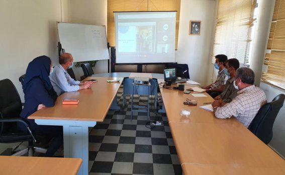 برگزاری وبینار آموزشی محصولات ویکن برای پتروشیمی ارومیه - 1